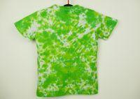Dětské tričko zelená batika