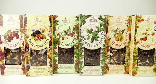 Kvalitní ovocné čaje sypané