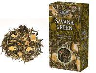 SAVANA GREEN - zelený čaj s lemongrass a ananasem, 70g