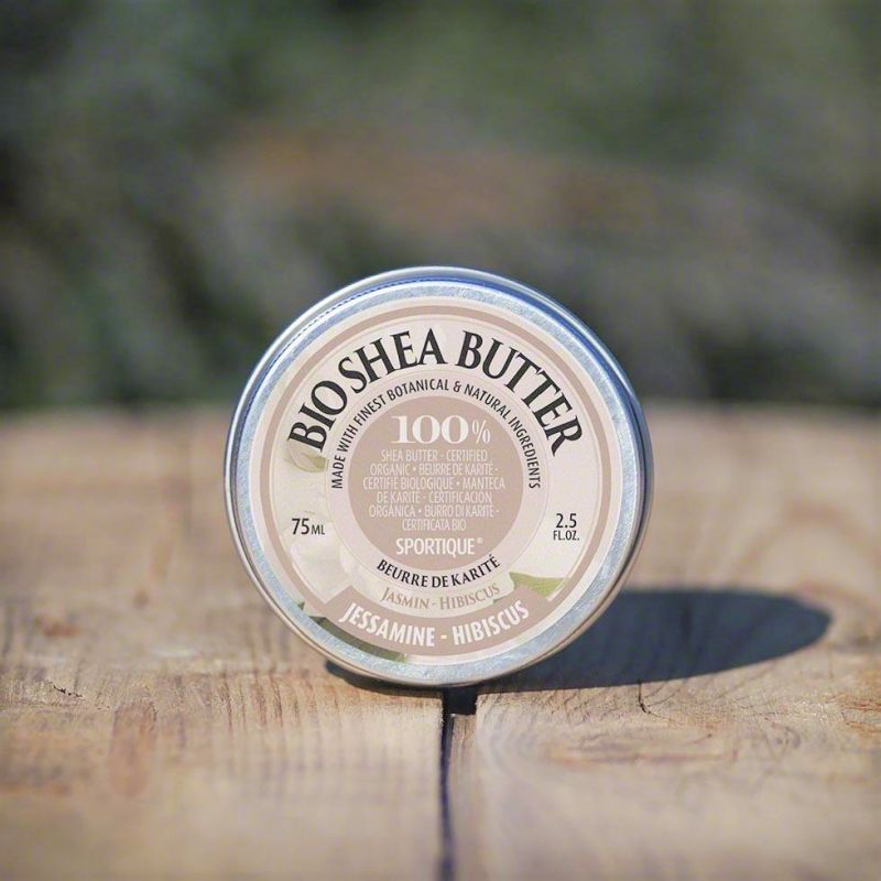 100% bio bambucké máslo bio karité jasmín