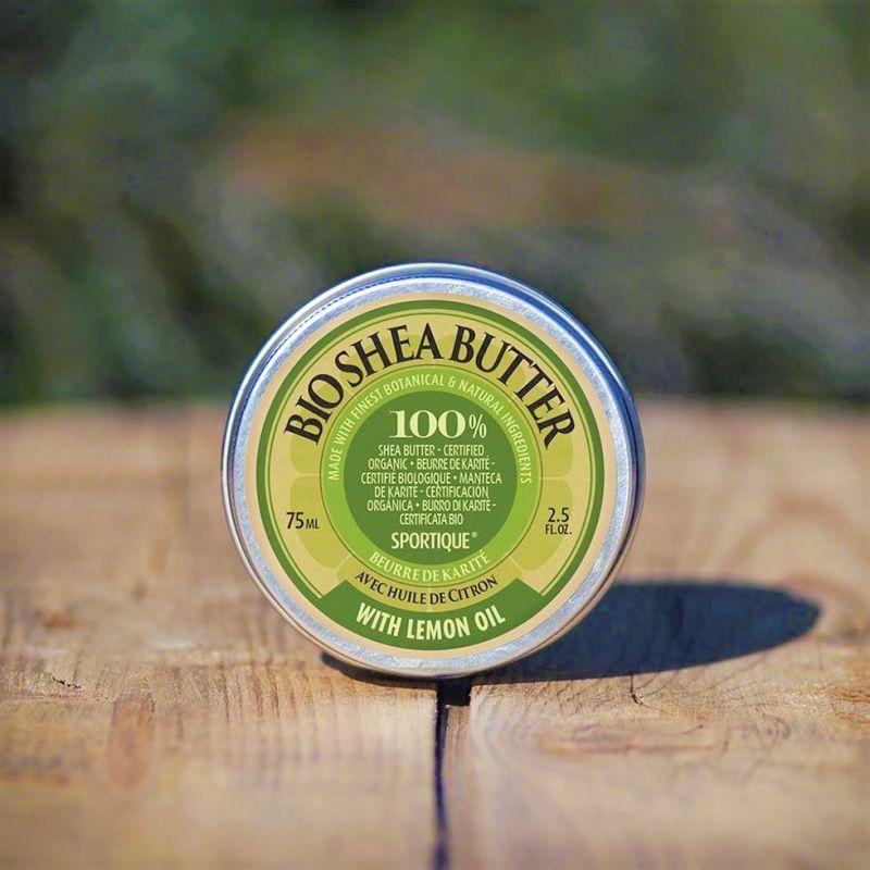 100% bio bambucké máslo citrus