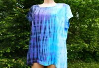 Dámské tričko modré BLACK ICE, 3XL