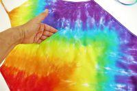 Dětská zástěrka duhová batika