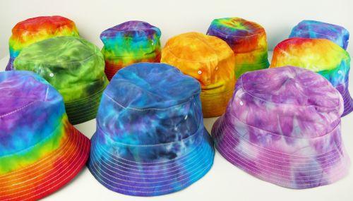 Duhové kloboučky