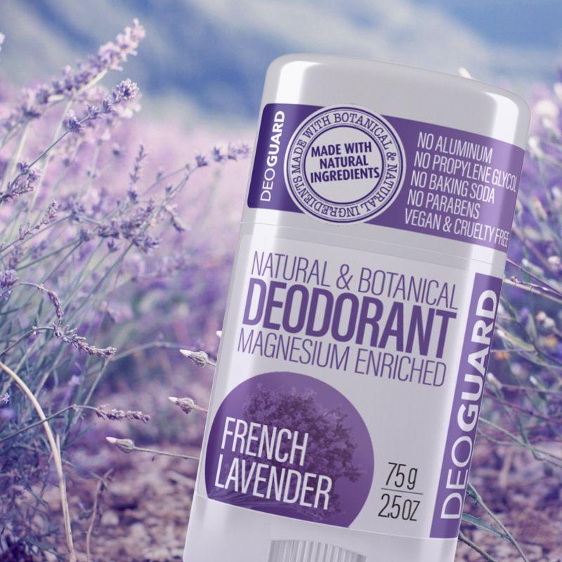 Přírodní tuhý deodorant Levandule