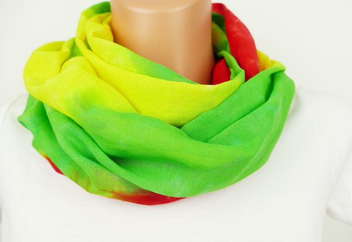 Rasta batikovaný šátek bavlna