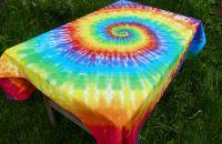 Duhový ubrus originální batika