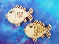 Keramické ryby na magnet