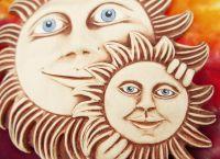 Keramické slunce Dvojslunce