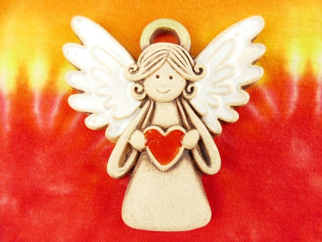 Keramický andělíček malý