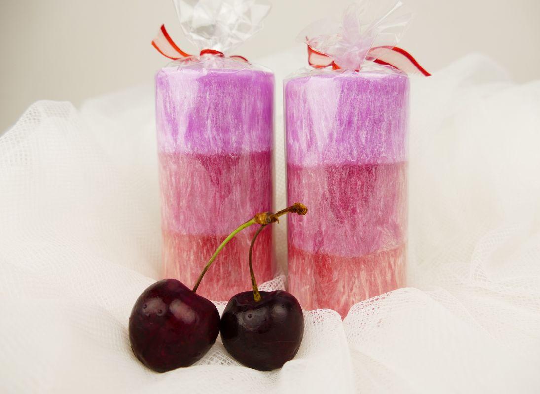 Black cherry vonná svíčka třešňová