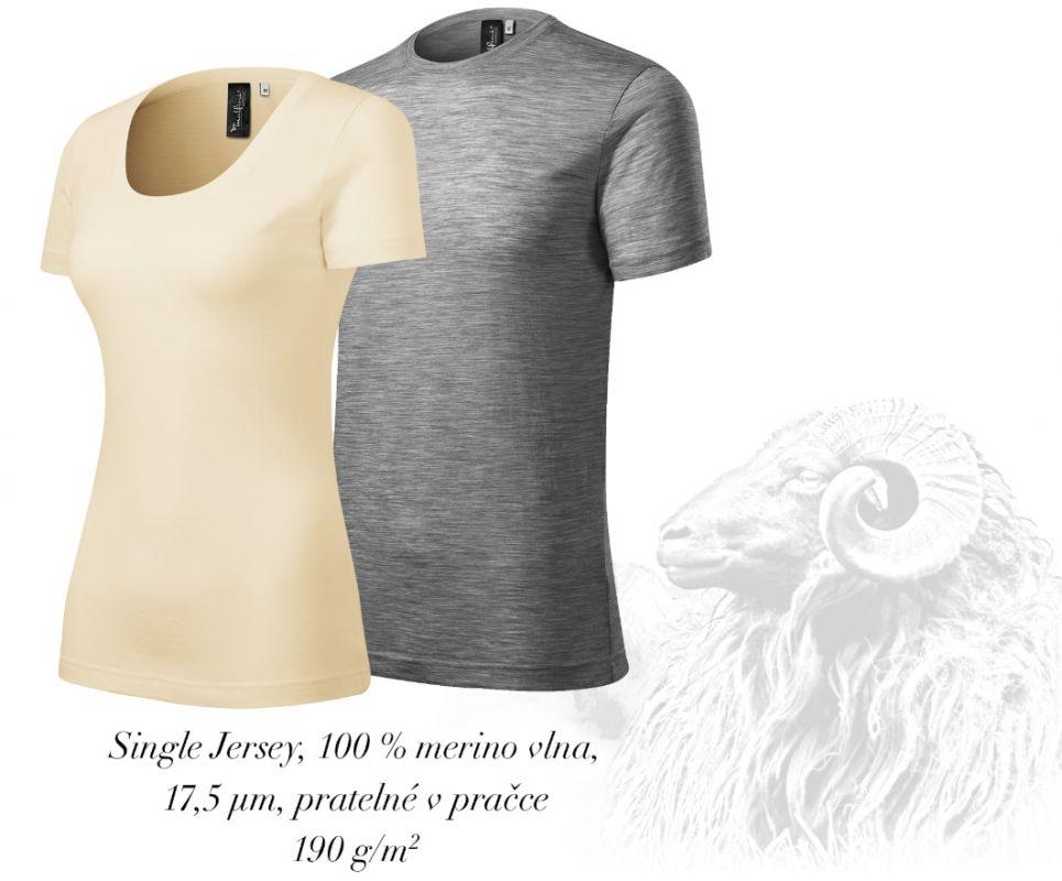 Jemná merino vlna trička