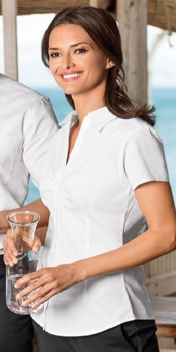 Dámská halenka košile bílá bavlna