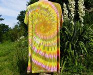 Šaty tričko dlouhé batika