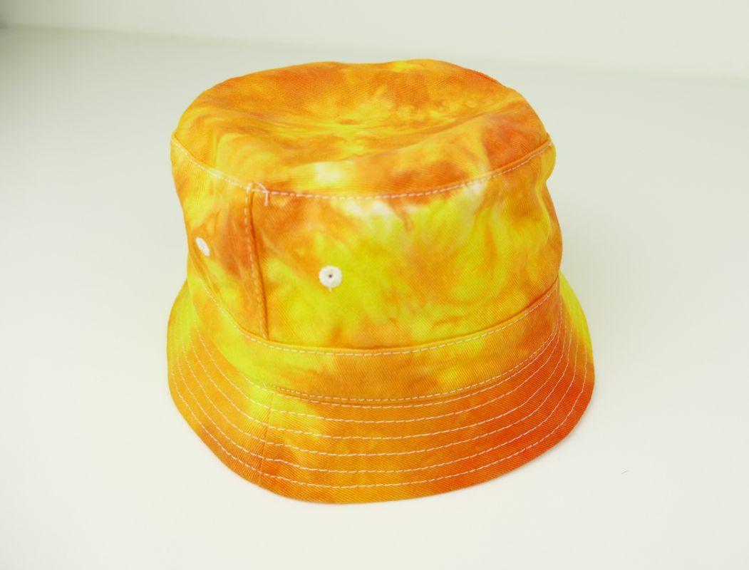 Dětský žlutý klobouček batika