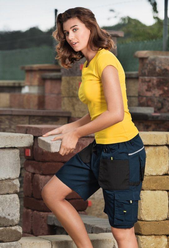 Pánské pracovní kalhoty šortky