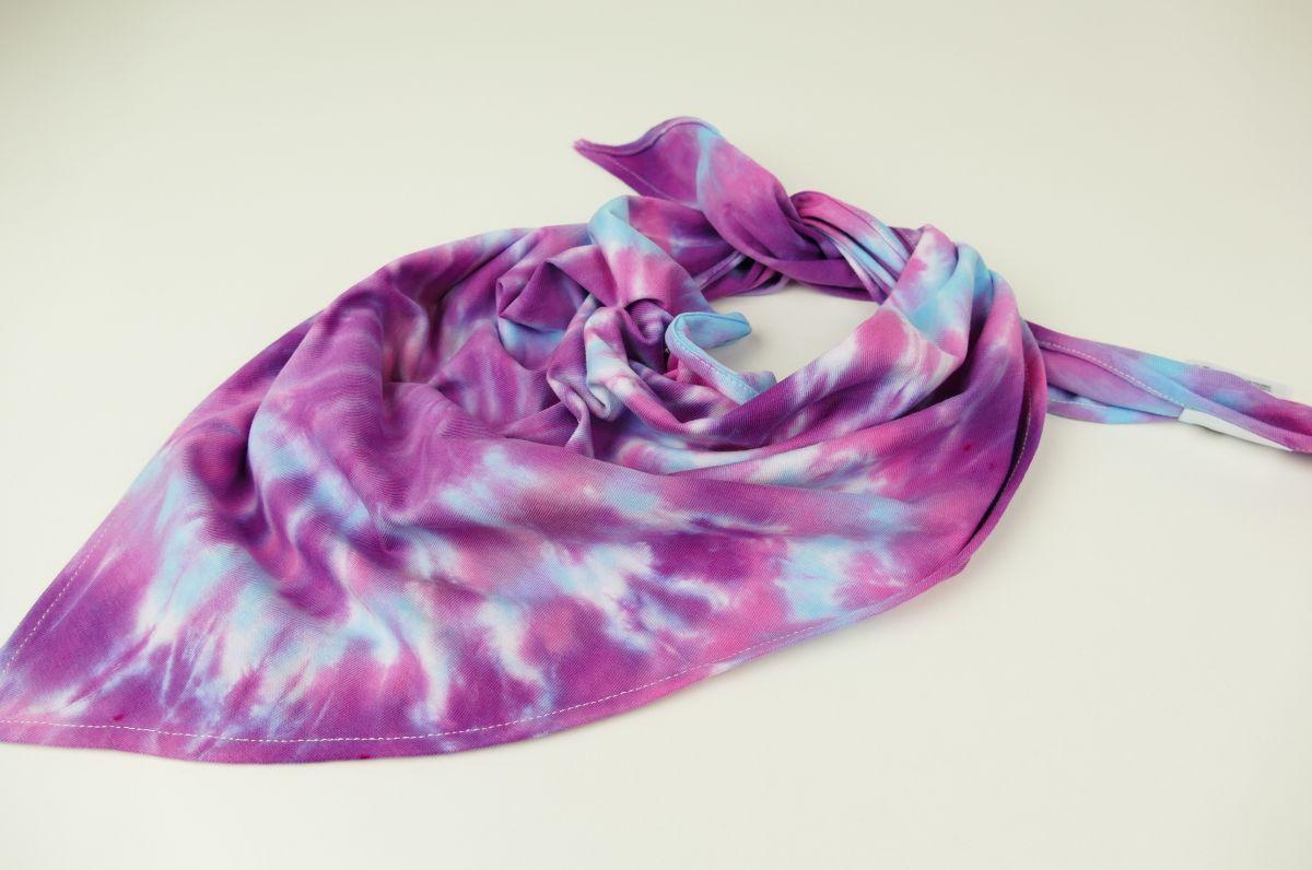 Šeříkový šáteček bavlna