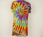 Dámské batikované tričko šaty