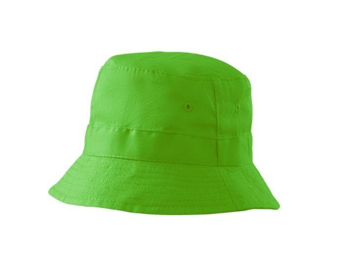 Dětský klobouček světle zelený