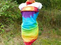 Velký duhový šátek batika pareo