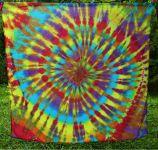 PAREO Šátek velký ŠAMANKA batika, 140x130cm