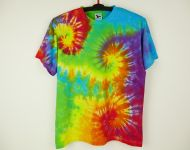 Batikované tričko duhové Color