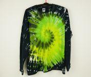 Batikované tričko dlouhý rukáv ON GREEN, XL