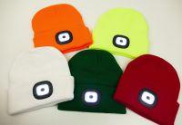 Svítící čepice LED světlo různé barvy