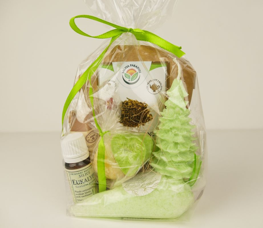 Dárkový balíček Zelený čaj-kosmetika