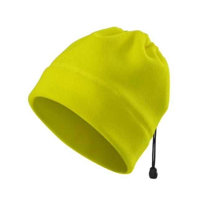Čepice/nákrčník fluorescenční žlutá