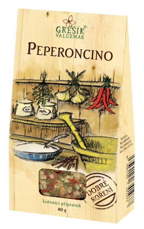 Peperoncino - pikantní koření bez glutamátu