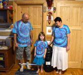 Hanka s rodinou