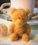 Svíčka vosková velký medvídek