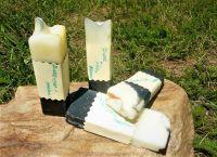 ZINEK S AKTIVNÍM UHLÍM přírodní antiseptické mýdlo 20g vzorek