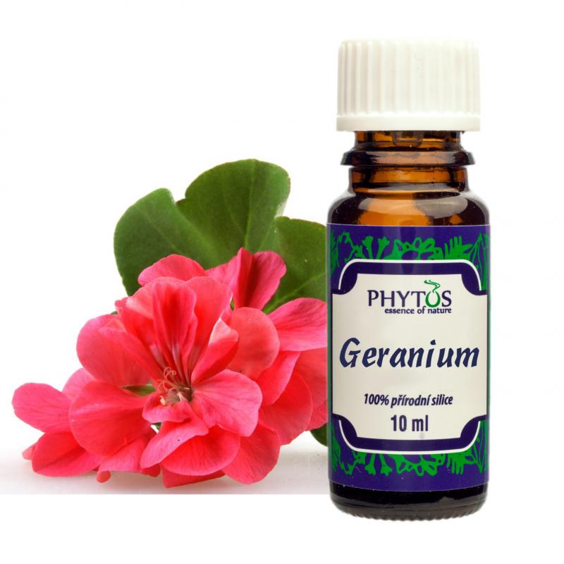 Geranium Pelargonie 100% éterický olej