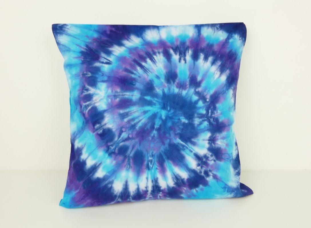 Bavlněný povlak na polštářek modrý