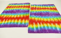 Duhové prostírání batika