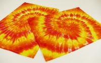 Batikované prostírání Žluté batika