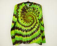 Batikované tričko dlouhý rukáv GREEN NATURE, XL