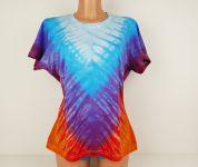 Dámské tričko batika BLANKYTNÉ VÉČKO, XL