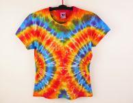 Dámské batikované tričko MANDALY, XL