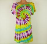 Dámské dlouhé tričko (šaty) PINK LIGHT, M