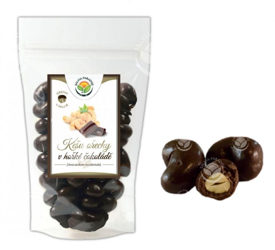 Kešu ořechy v hořké čokoládě