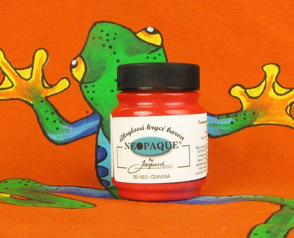 Barva Neopaque 583 Červená 67 ml