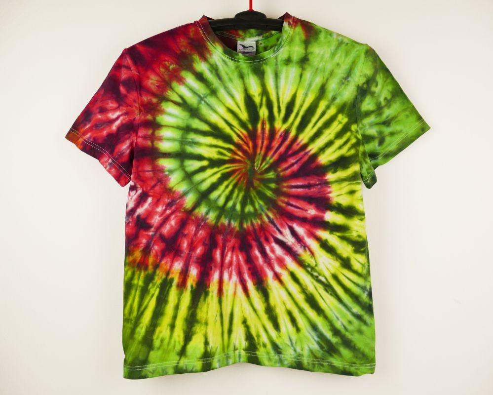 Pánské batikované tričko REGGAE, M Šťastní lidé-M