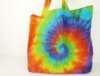 Velká nákupní taška duhová