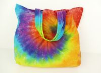 Duhová nákupní taška velká