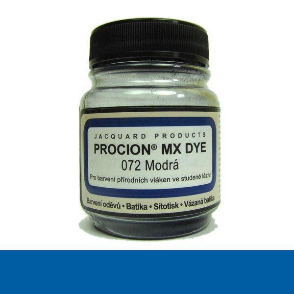 Barva na textil za studena Jacquard Procion MX 072 Modrá