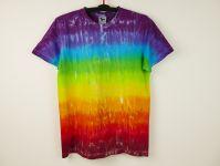 Duhové tričko batika