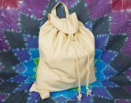 Bílý bavlněný batůžek Natural